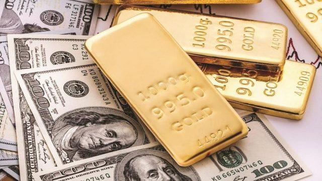 Giá Vàng Ngày 12/12: Vàng Giảm Nhẹ USD Tăng