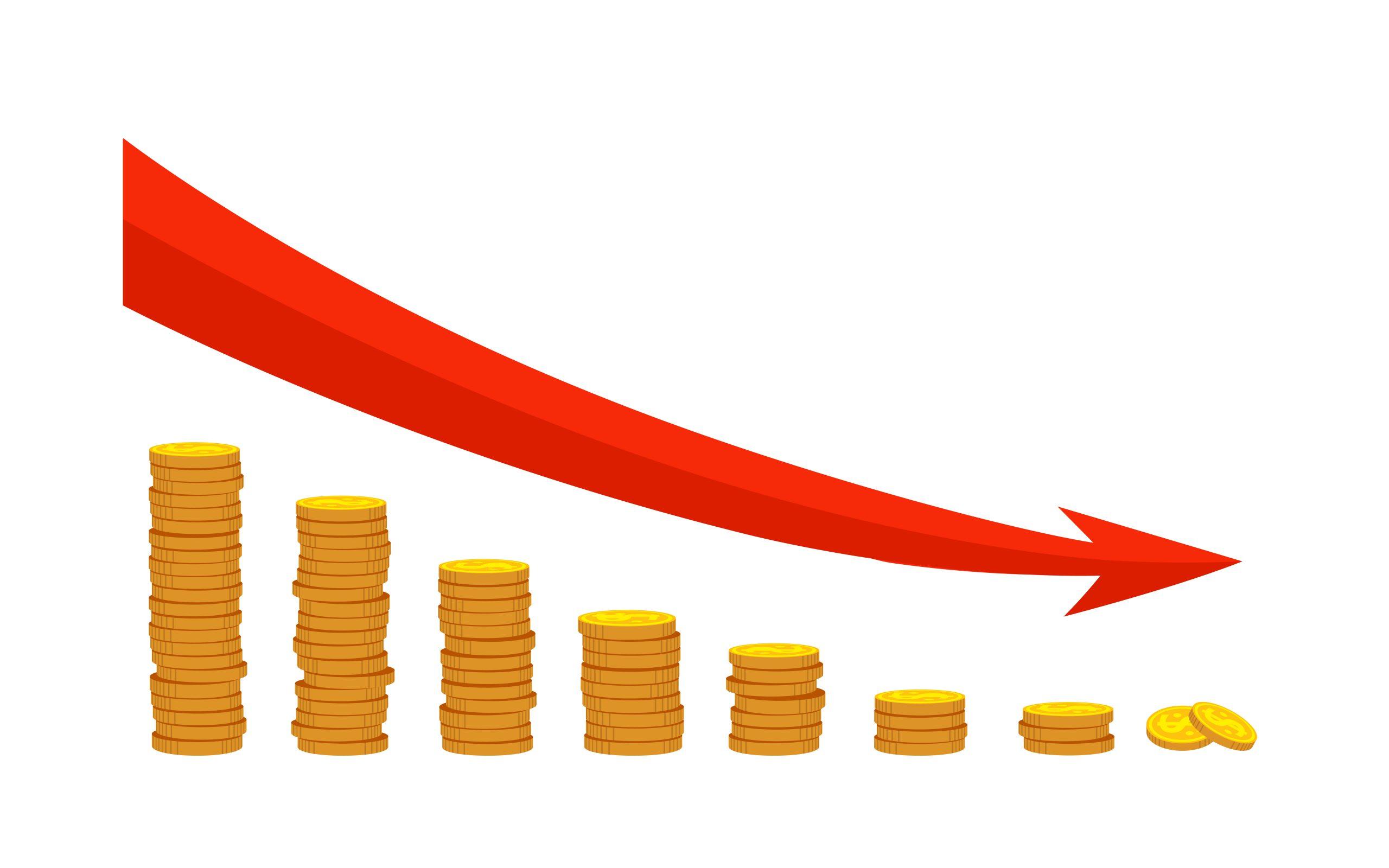 Giá vàng thế giới đang giảm mạnh những ngày đầu năm 2021