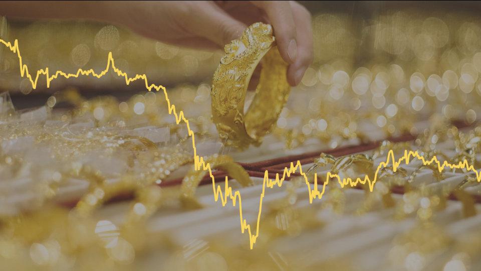Nhiều yếu tố gây áp lực giảm lên Vàng