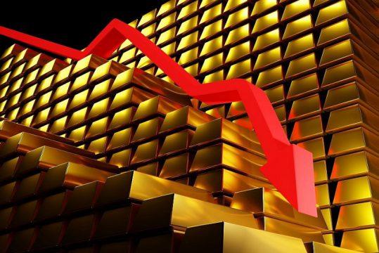 Vàng có thể rơi về vùng giá 1.600 USD/ounce