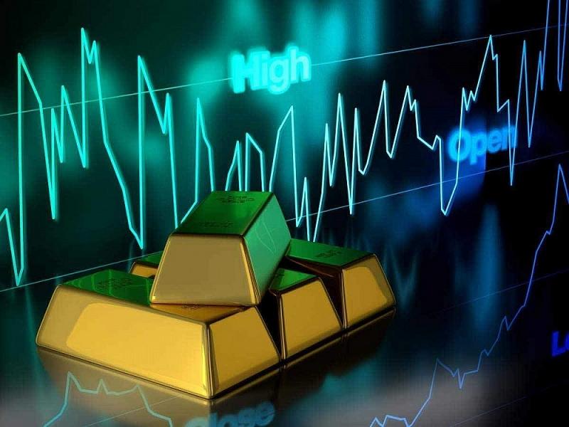 Vàng trên thị trường quốc tế tăng giảm khá mạnh