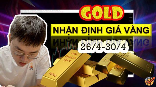 Nhận định Gold (26/04/2021): Canh Nhồi BUY