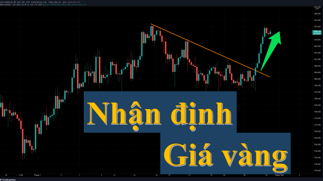 Nhận định giá vàng (30/7/2021): Chờ BUY, đợi BUY