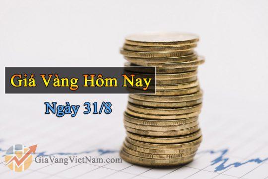 Giá Vàng Hôm Nay Ngày 31/8: Phục Hồi Nhẹ Sau Phiên Điều Chỉnh Giảm